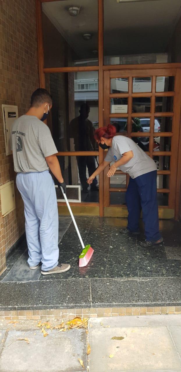 limpieza de consorcios
